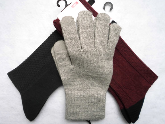 手袋と靴下
